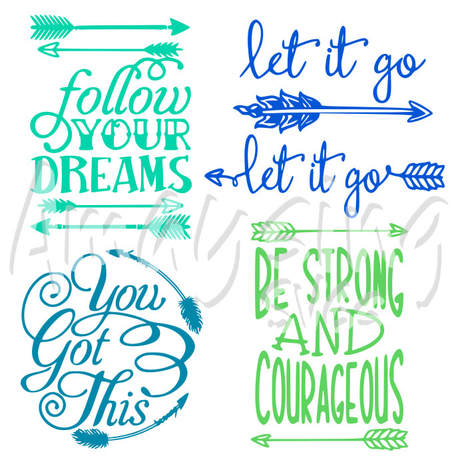 Follow Your Dream SVG Bundle - Amaysing SVGs