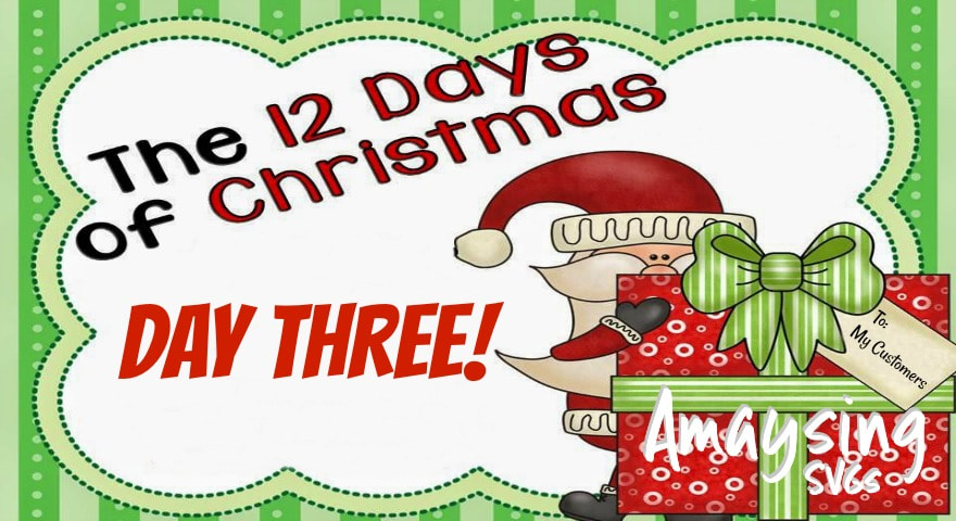 12 Days of Christmas Giveaways Day Three - AmaysingSVGS.com