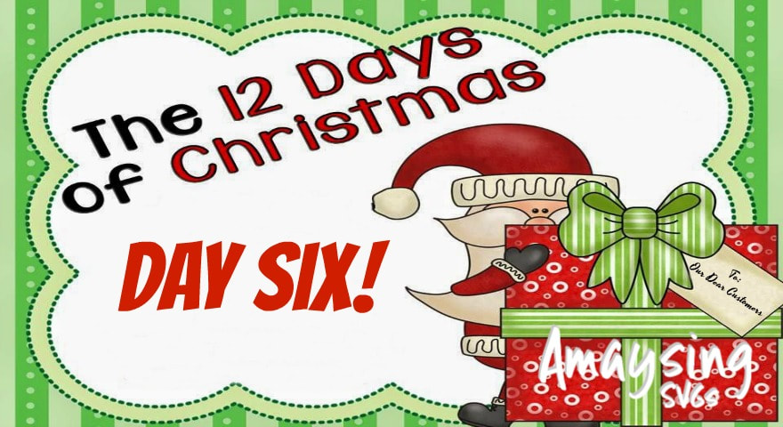12 Days of Christmas Giveaways Day 6 Amaysing SVGs.com