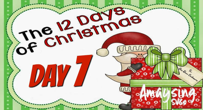 12 Days of christmas Giveaways Day 7 - Amaysing SVGS.com