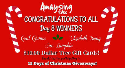 Day 8 Winners - Amaysing SVGs.com