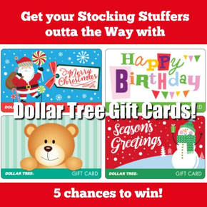 Dollar Tree Gift Cards - Amaysing SVGs