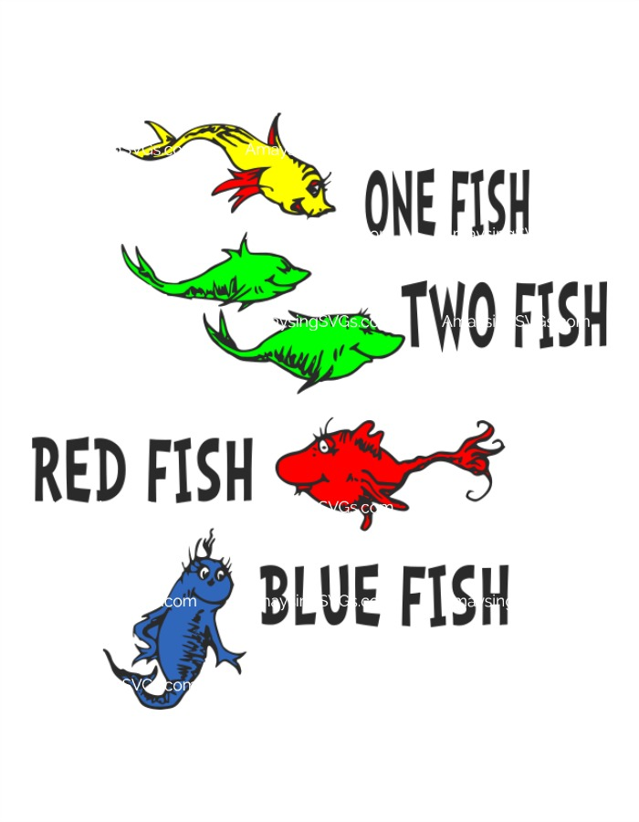 one fish two fish svg