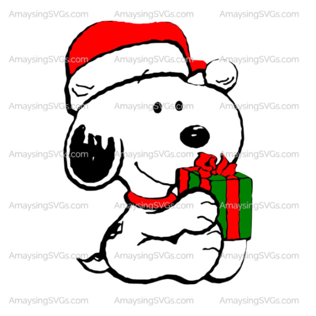 Snoopy Merry Christmas Images.Snoopy Merry Christmas Svg