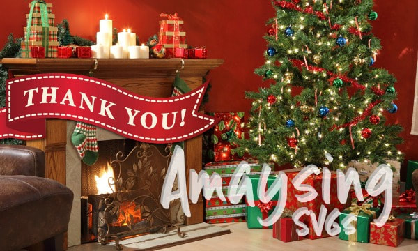 Thank You and Merry Christmas from Amaysing SVGs